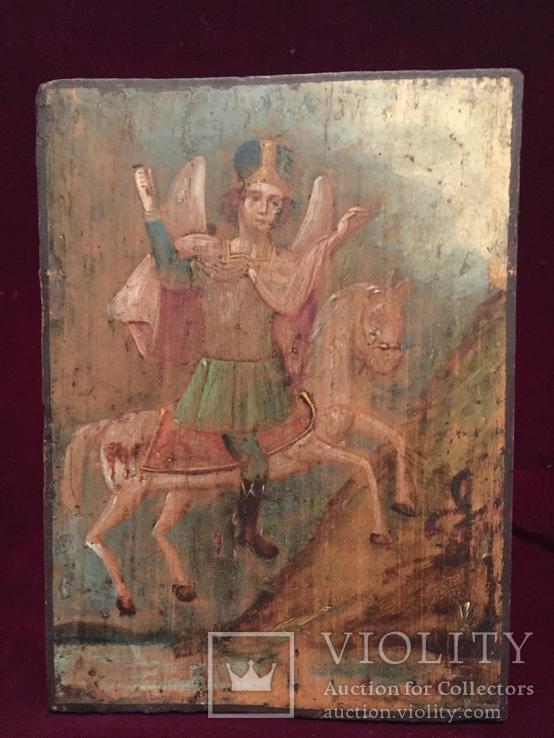Икона Архангел Михаил на коне, фото №2