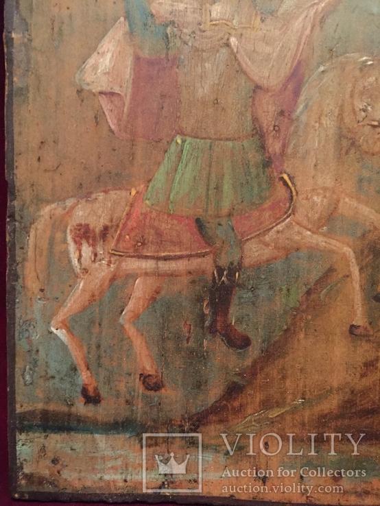 Икона Архангел Михаил на коне, фото №3
