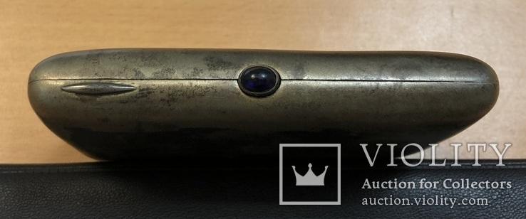 Серебряный портсигар 875 пробы, фото №5