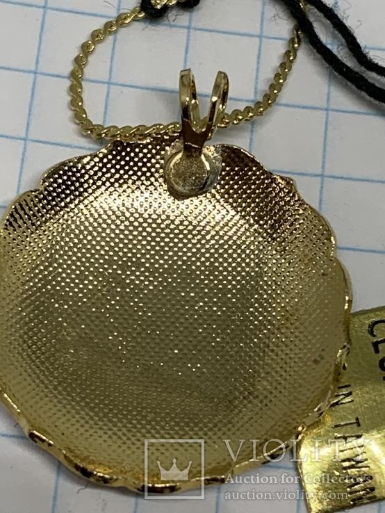 Винтажный эмалевый кулон Клуазоне, фото №10
