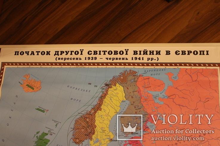 Початок другої світової війни в Європі (39-41 рік) маш. 1:4 500 000, 2005 рік, фото №3