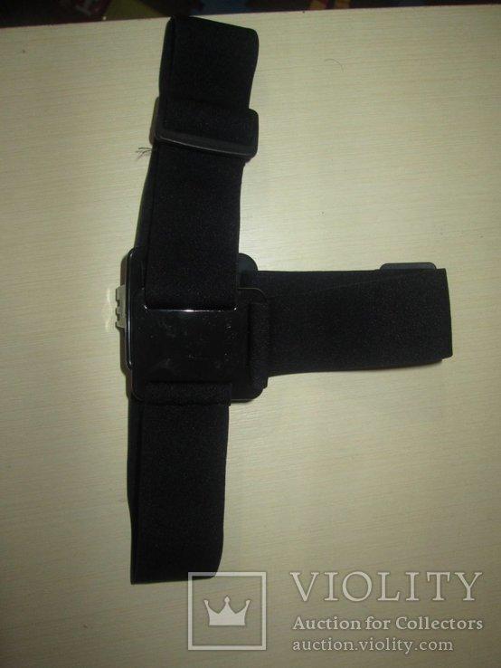 Эластичный держатель экшнкамеры ,на голову, фото №4