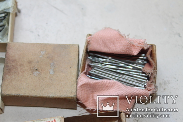 Шість коробків з клеймованими новими голками для шиття часів СССР, фото №12