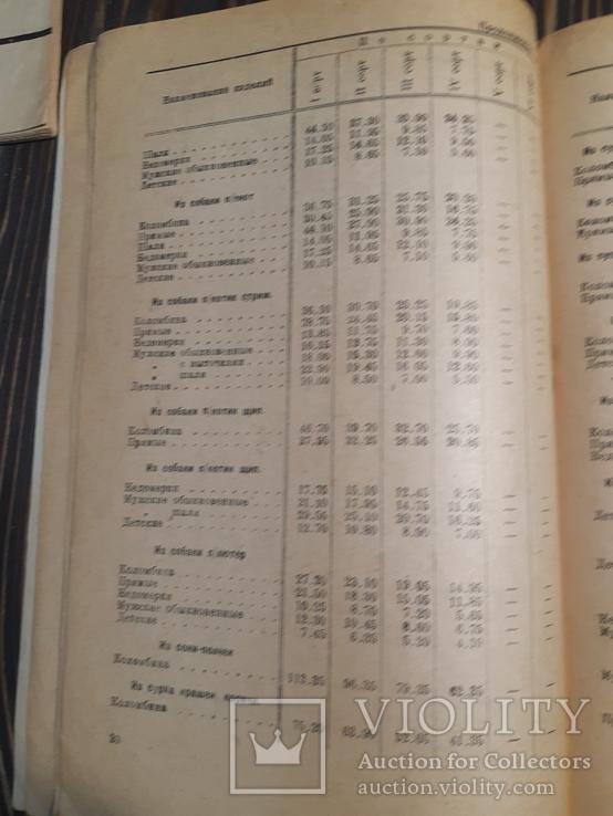 1934 Прейскурант на пушно-меховые и овчино-шубные товары, фото №9