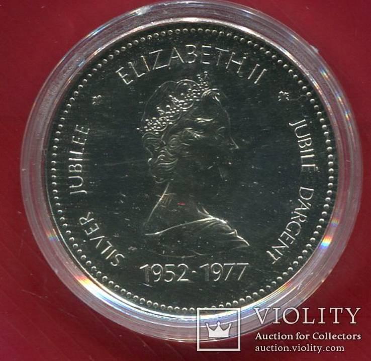 Канада 1 доллар 1977 Пруфлайк Юбилей Коронации, фото №3