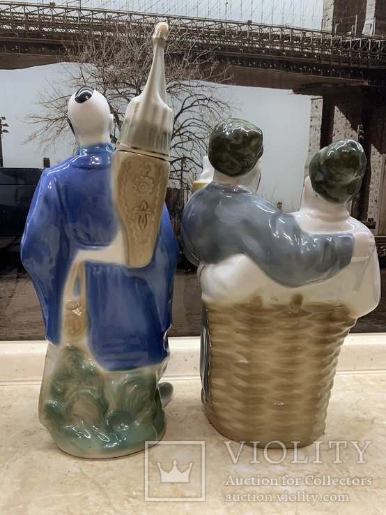 Две статуэтки /с глечиками / ., фото №4