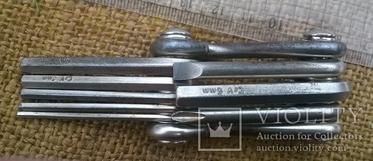 FORUS.Набор складных ключей и отверток., фото №5