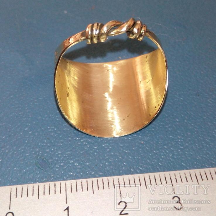 Реплика Копия Перстень Пластинчатый КР Скандинавия, фото №6