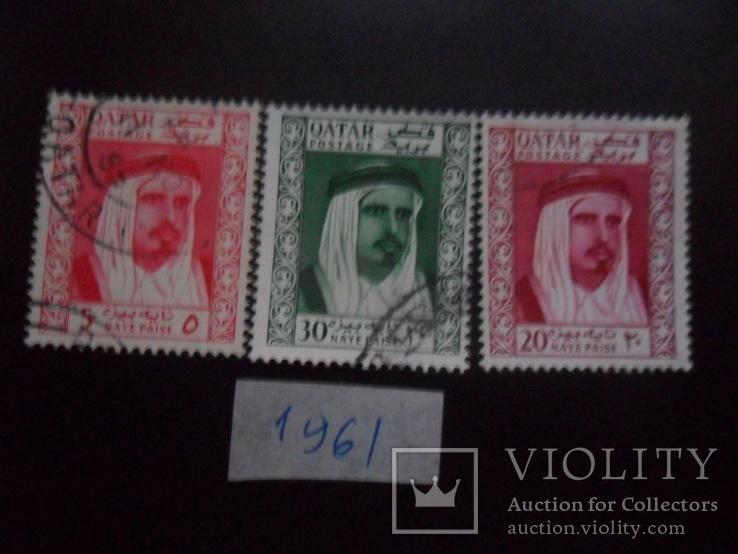 Британские колонии. Катар. 1961 г.  гаш