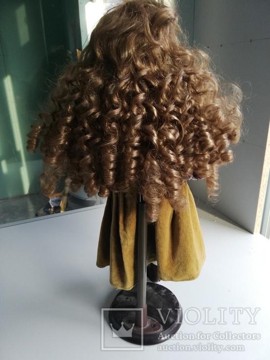 Кукла Высота 42 см, керамика на подставке, фото №9