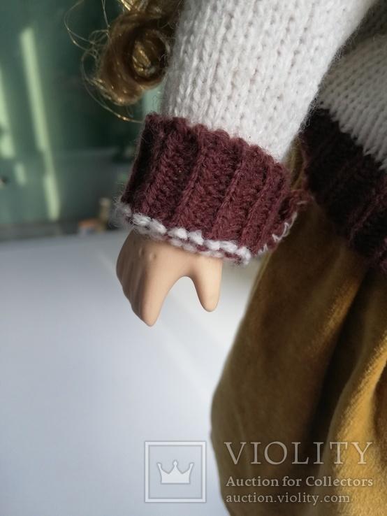 Кукла Высота 42 см, керамика на подставке, фото №12