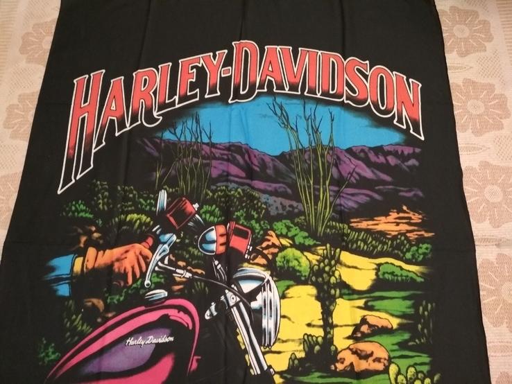 18. Баннер Harley-Davidson, 136x100см, новый, фото №3