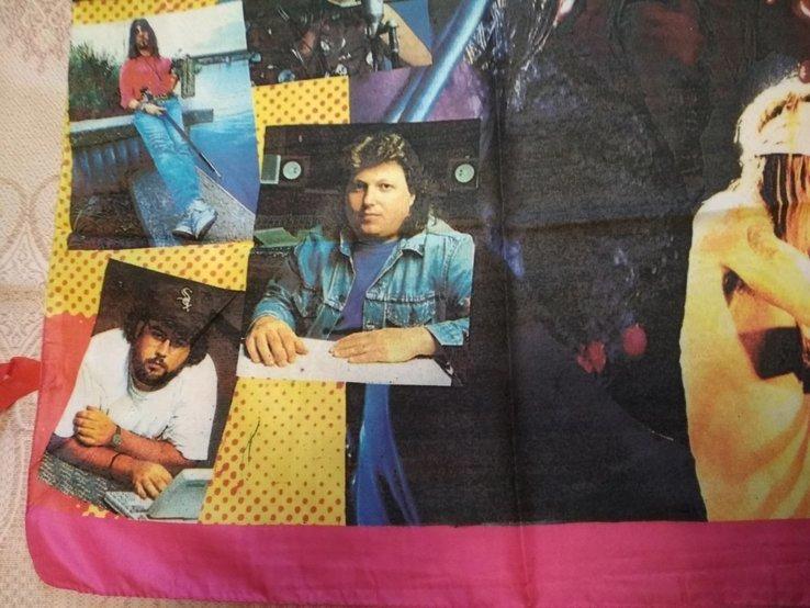 15. Баннер Guns N'Roses 97х135см, ткань, новый, фото №3