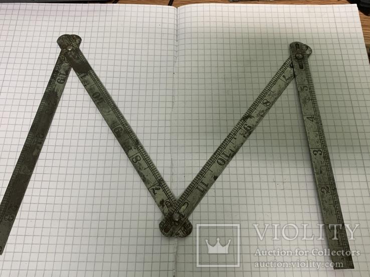 Винтажный метр с англии, фото №2
