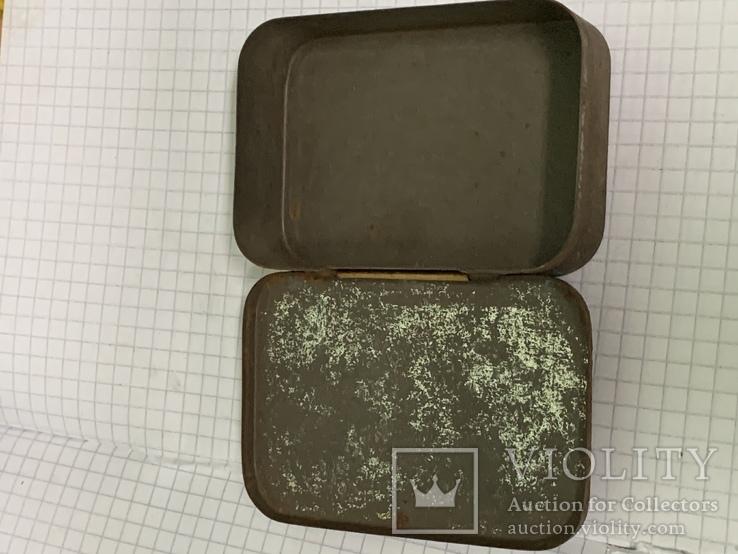 Винтажная жестяная коробка с англии, фото №6