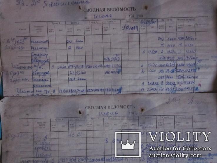 Портовая документация на загрузку судна. Ильичёвск.1963 г., фото №10