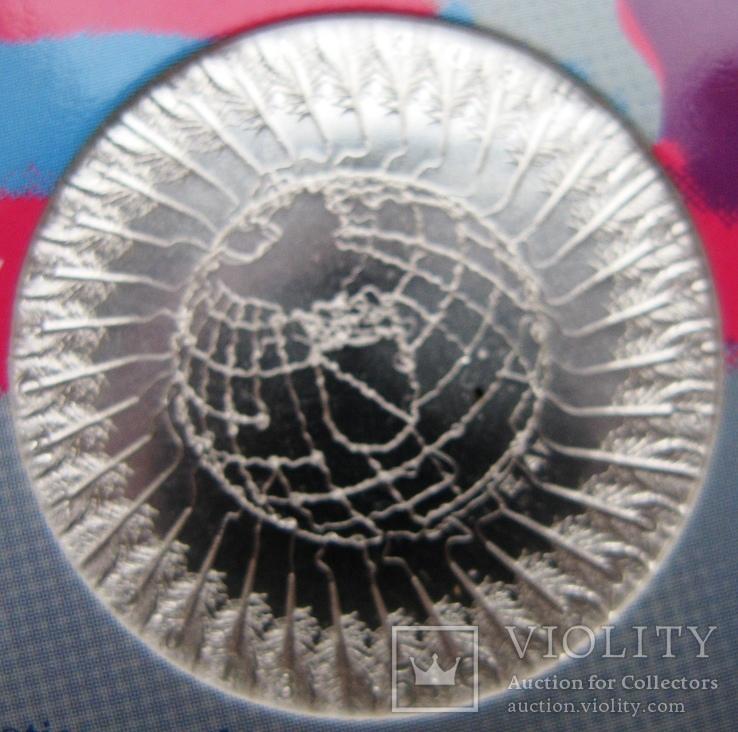 """Нидерланды, 5 евро 2013 """"300 лет свободному городу Утрехт"""", фото №5"""