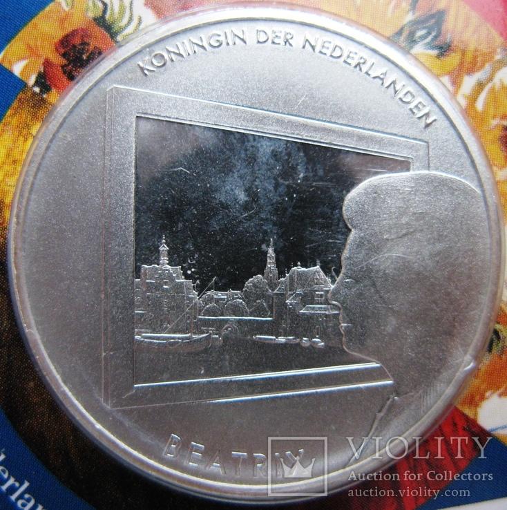 """Нидерланды, 5 евро 2011 """"Живопись Нидерландов"""", фото №4"""