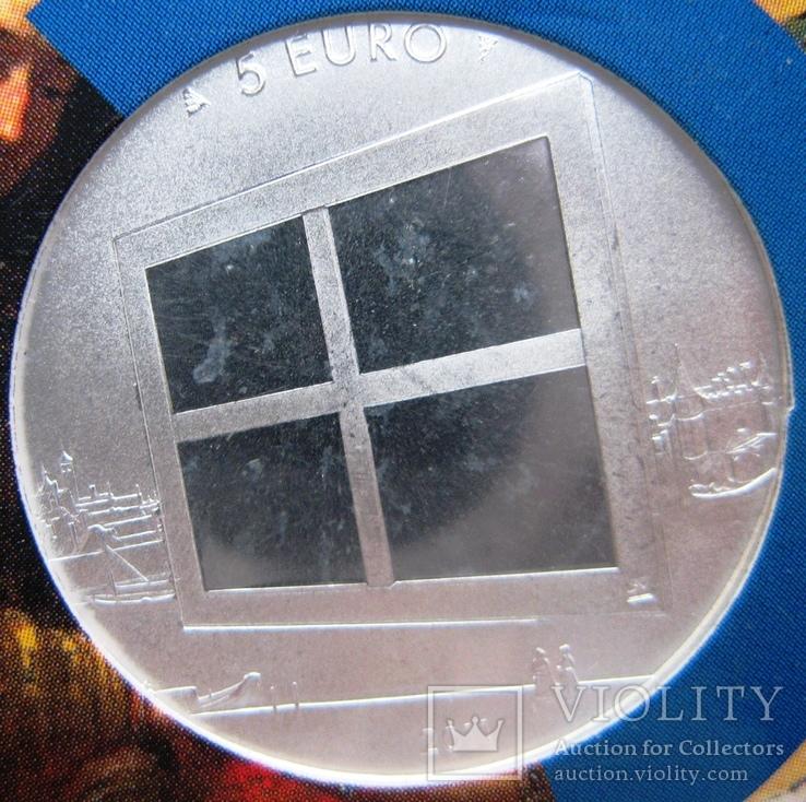 """Нидерланды, 5 евро 2011 """"Живопись Нидерландов"""", фото №5"""