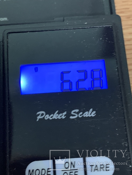 Винтажный жесткий браслет красного цвета 62 грамма, фото №5