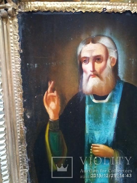 Икона Серафим Саровский, фото №5