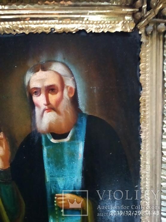 Икона Серафим Саровский, фото №6