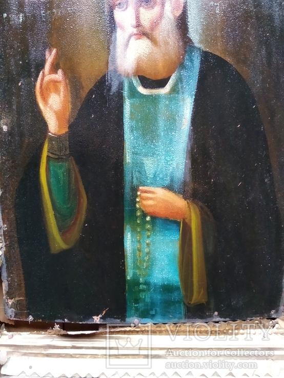 Икона Серафим Саровский, фото №7