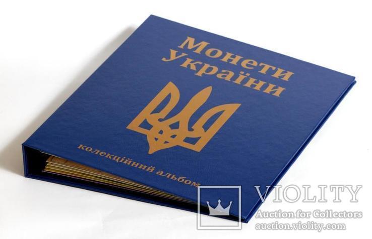 Альбом-каталог для монетовидных жетонов Украины серии Гетьман, фото №2