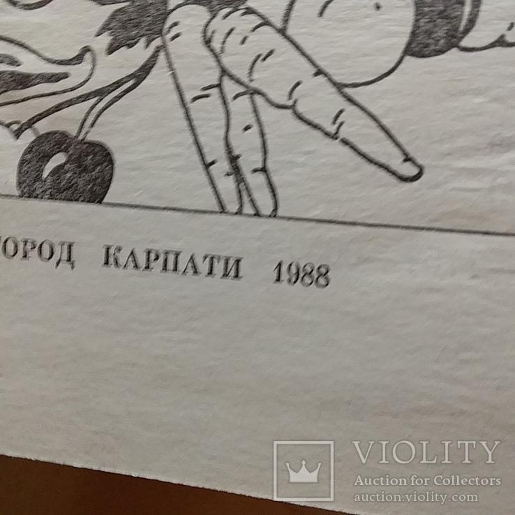 """Мамчур """"Овочі і фрукти в нашому харчуванні"""" 1988р., фото №3"""