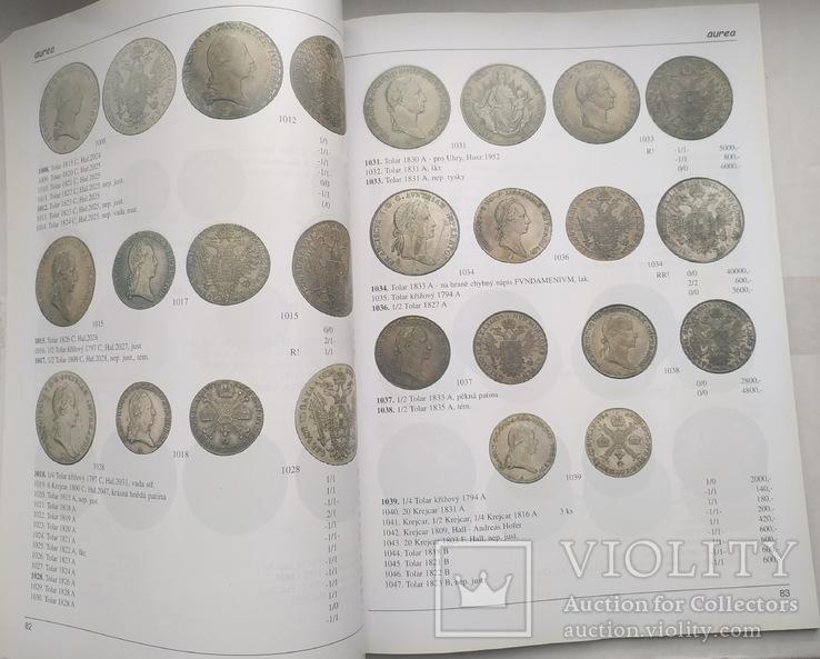 Аукционный каталог Aurea Numismatika ,Прага 19 мая 2007 года, фото №4