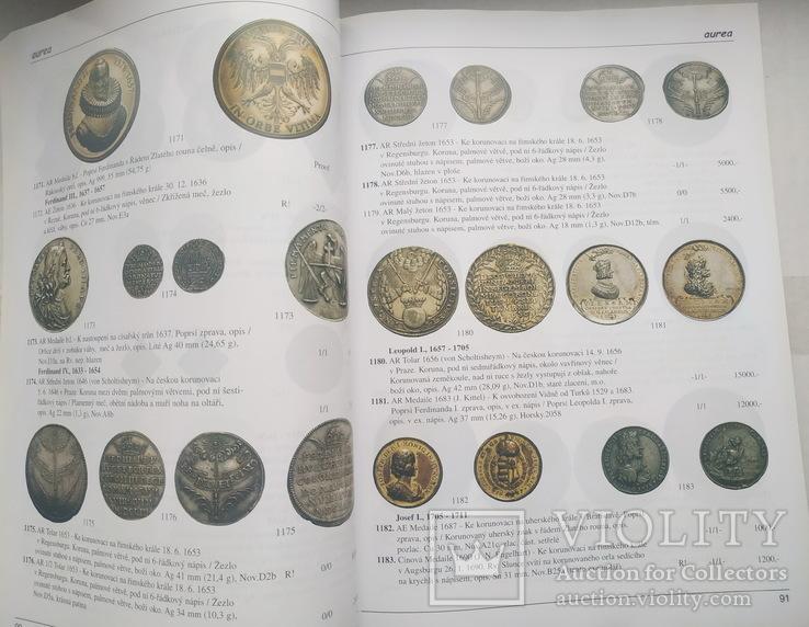 Аукционный каталог Aurea Numismatika ,Прага 19 мая 2007 года, фото №5