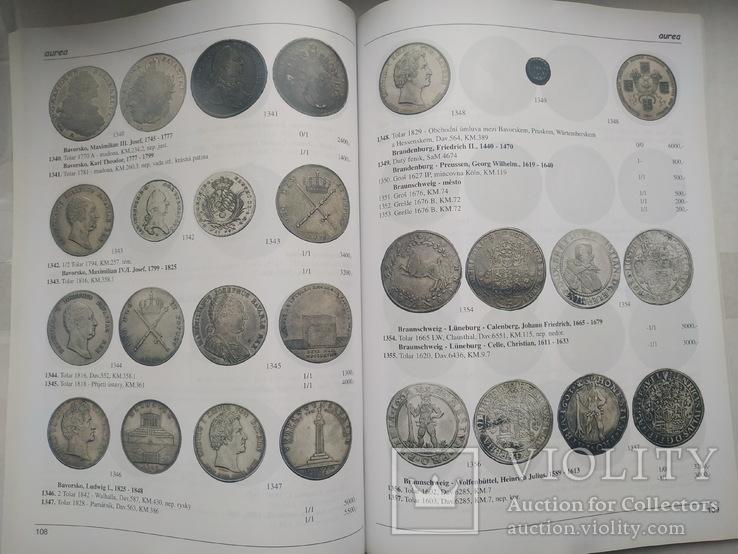 Аукционный каталог Aurea Numismatika ,Прага 19 мая 2007 года, фото №6