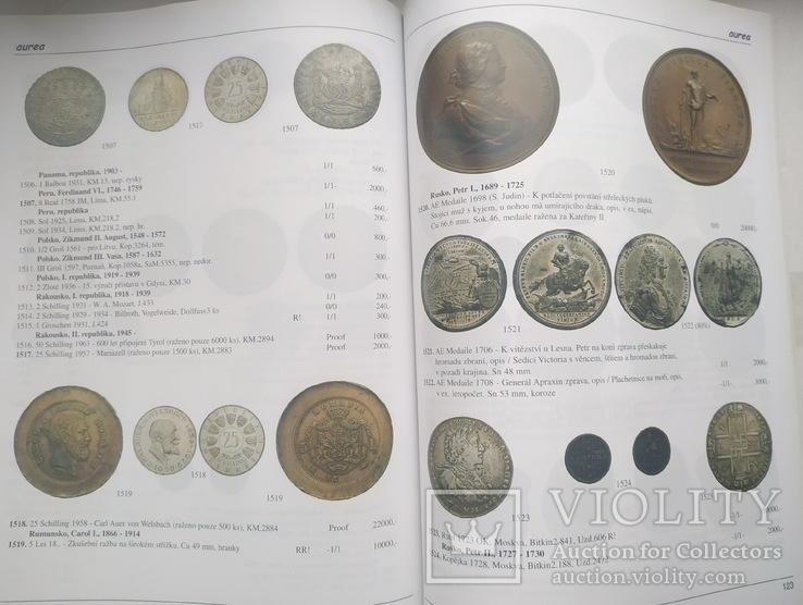 Аукционный каталог Aurea Numismatika ,Прага 19 мая 2007 года, фото №7