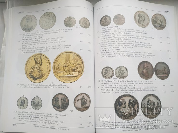 Аукционный каталог Aurea Numismatika,38, Прага 21 мая 2011 года, фото №5