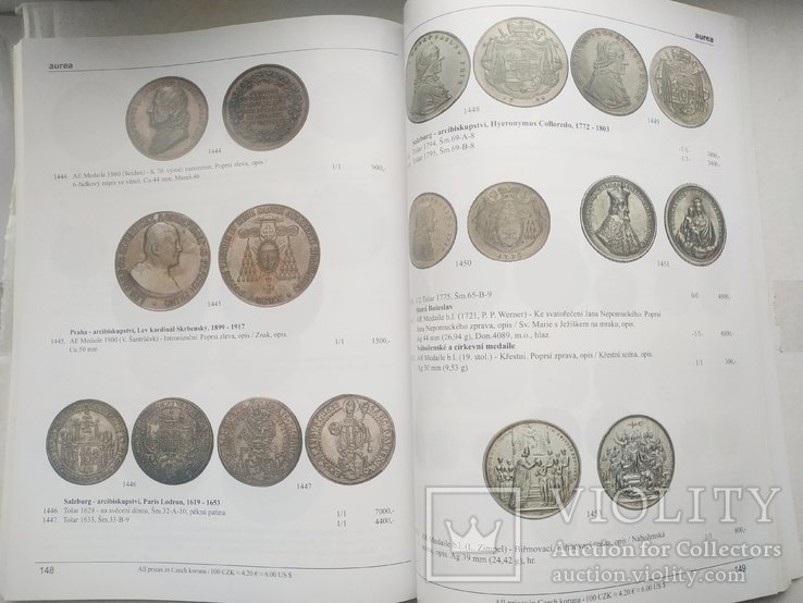 Аукционный каталог Aurea Numismatika,38, Прага 21 мая 2011 года, фото №7