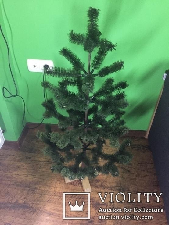 Разборная ярусная елка 95 см, фото №2