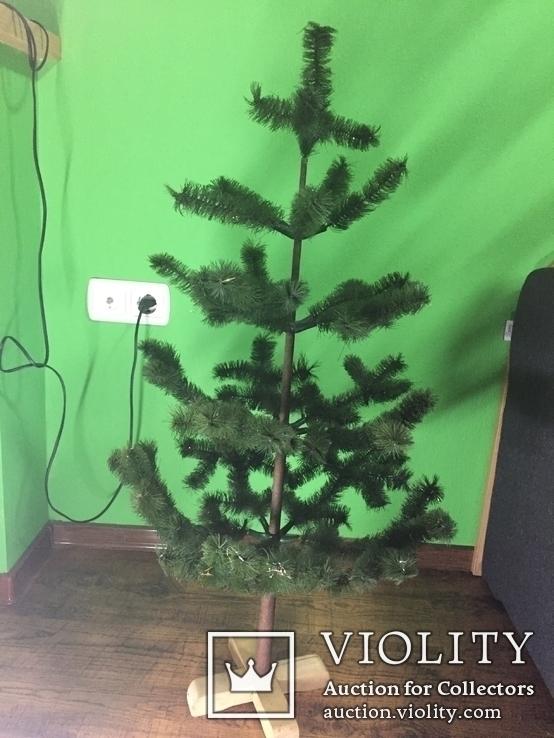 Разборная ярусная елка 95 см, фото №3