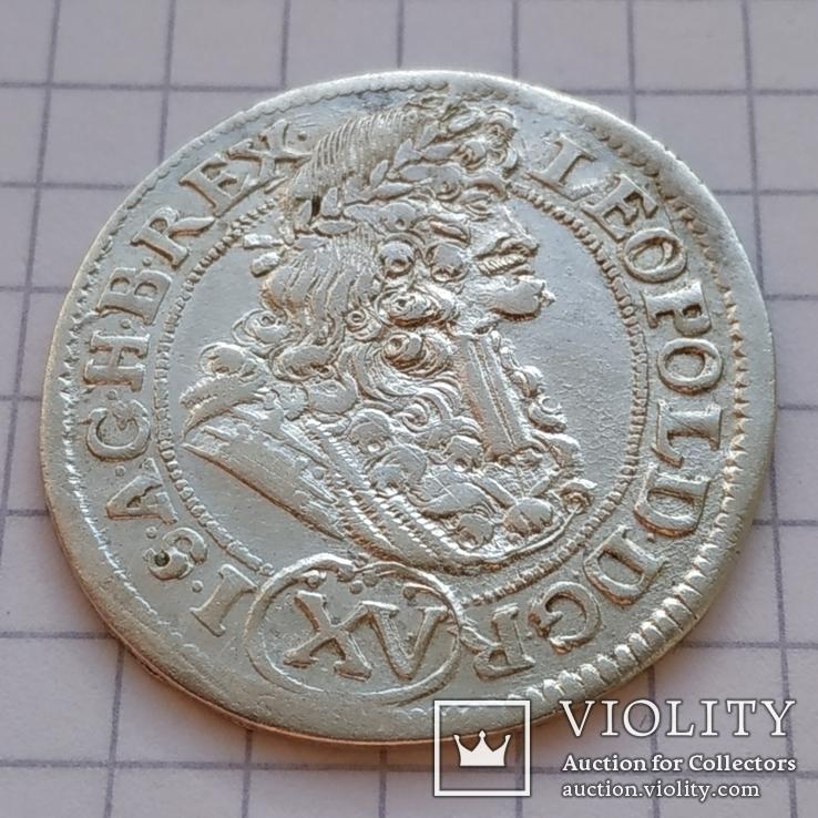 15 крейцерів 1691 року Леопольда (KB)