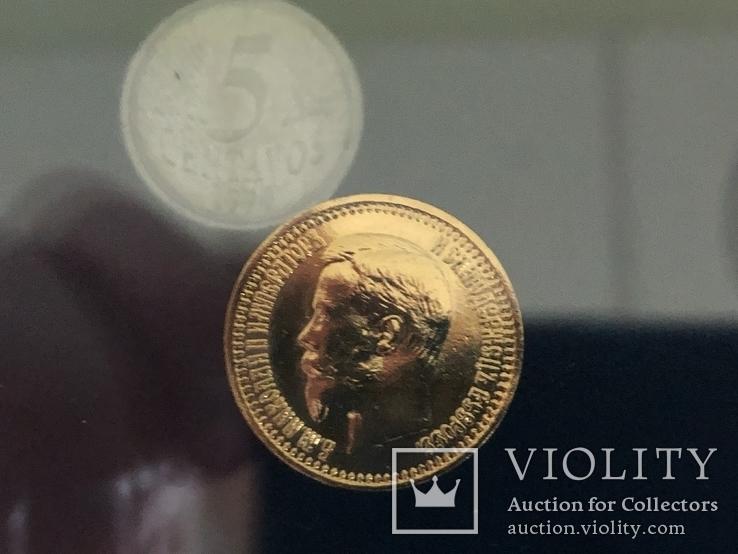 Коллаж из монет, фото №8