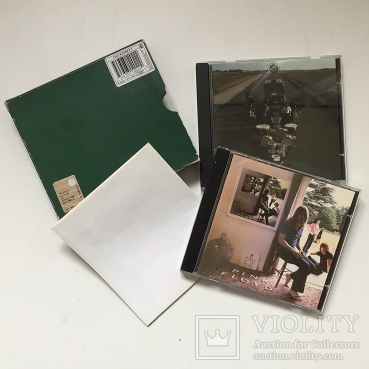"""Два диска. Pink Floyd. """"Ummagumma"""" с плакатом., фото №2"""