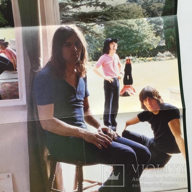 """Два диска. Pink Floyd. """"Ummagumma"""" с плакатом., фото №7"""