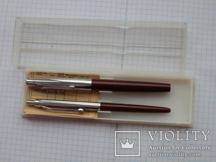 Ручка с золотым пером. набор. ссср, фото №7