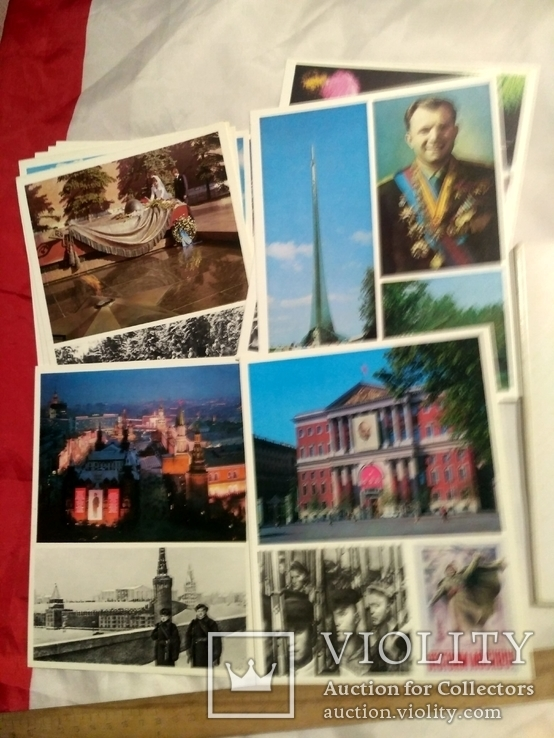 Набор открыток. город герой москва., фото №4