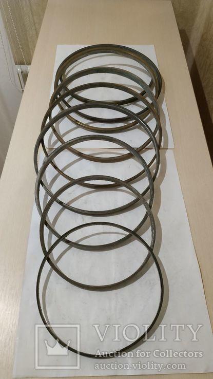 Комплектующие  к  самоварам  кольца 9 шт, фото №3
