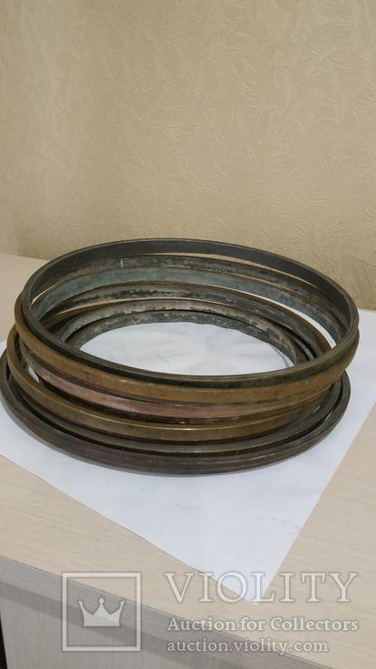 Комплектующие  к  самоварам  кольца 9 шт, фото №2