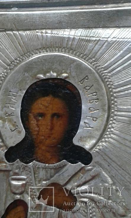 Святая Варвара в серебряном окладе, фото №5