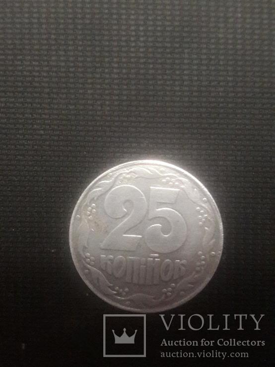 25 коп из алюминия / вес 1,1гр / сувенир, фото №4