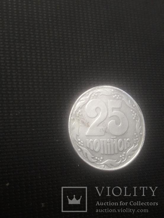 25 коп из алюминия / вес 1,1гр / сувенир, фото №5