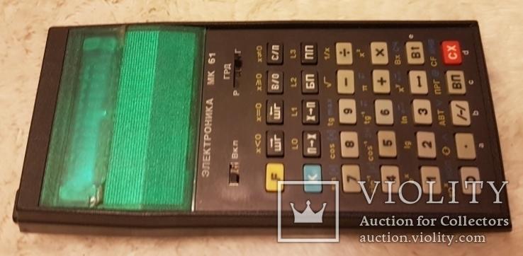 Калькулятор Электроника МК 61. СССР, фото №4