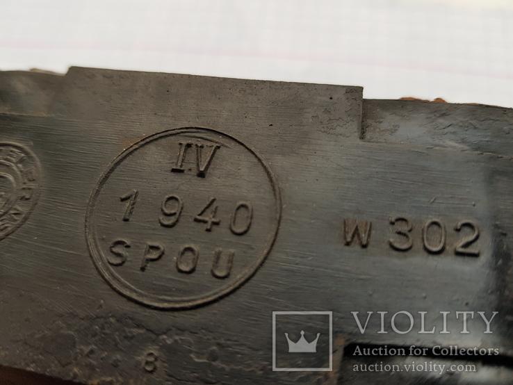 """Трак гусеницы танкоцикла """"Metzeler Munchem"""" 1940, фото №4"""